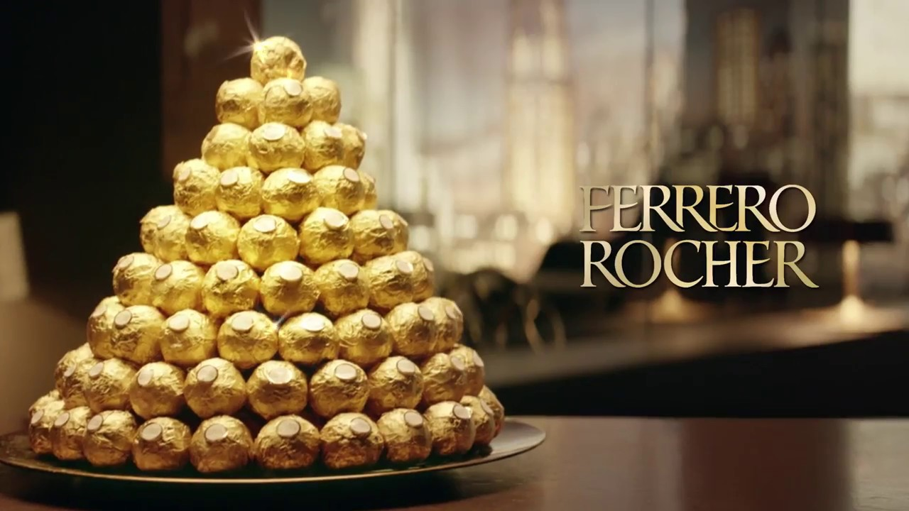 Crack out the Ferrero Rocher*