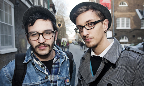 Hipsters in East London. Photo: Tim Sullivan
