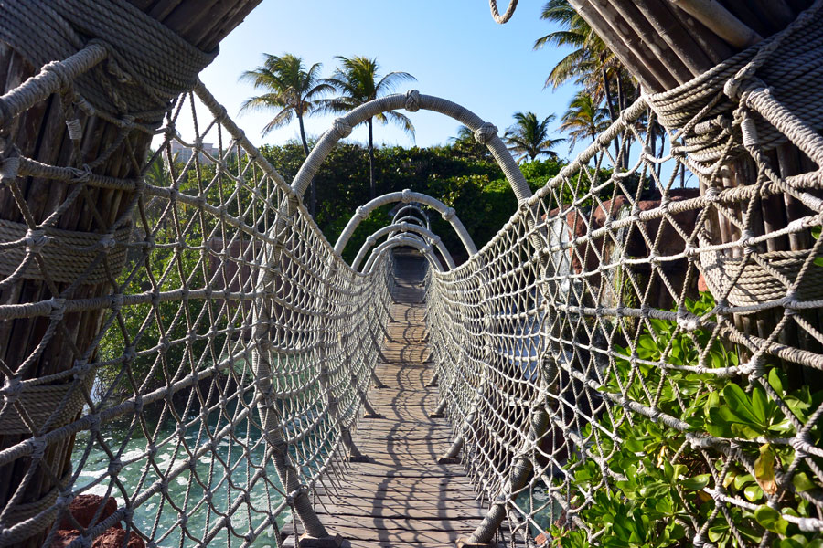 Atlantis Paradise Island Rope Bridge