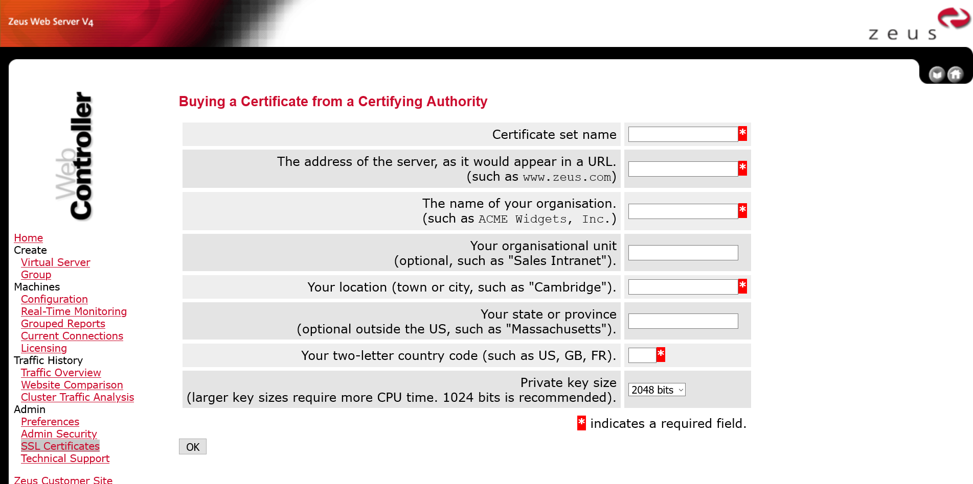 "Guard against the SSLv3 Vulnerability (""POODLE"") in Zeus Web Server"