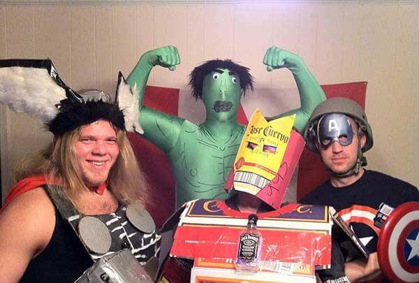 Funny Cosplay Avengers