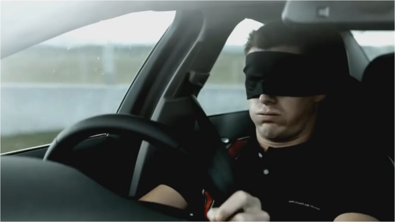 73: You wouldn't drive blindfolded